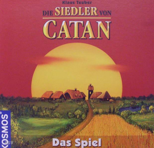 figure Gameversione Of CatanBasic modellate con Settlers The DIE92H